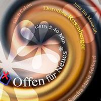 Filmplakat - Offen für Neues - Kurzspielfilm | mit Dorothea Rosenberger & Sandra Maria Schlegel | Regie Nikolaus von Uthmann